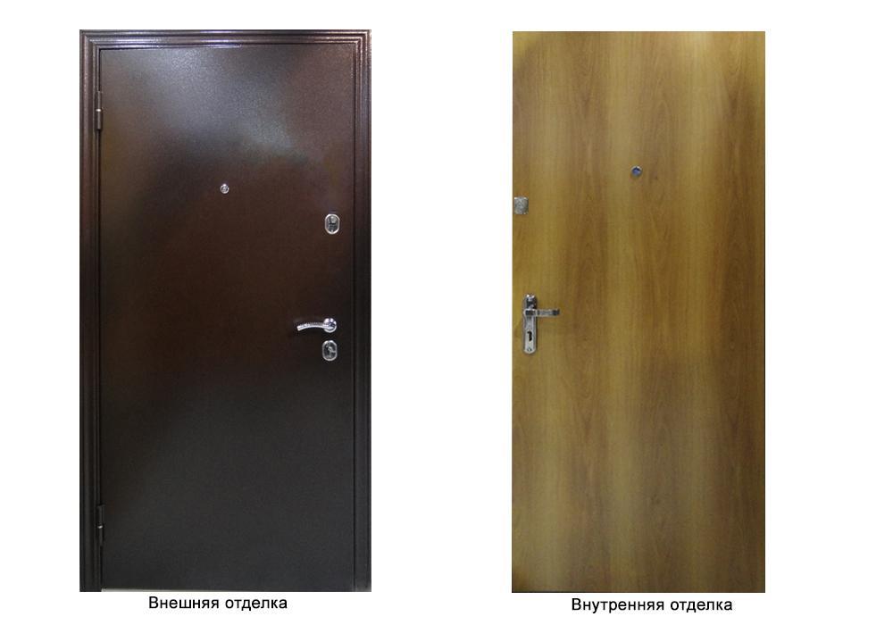 Дверь входная ДПН-50- 06 белый венге