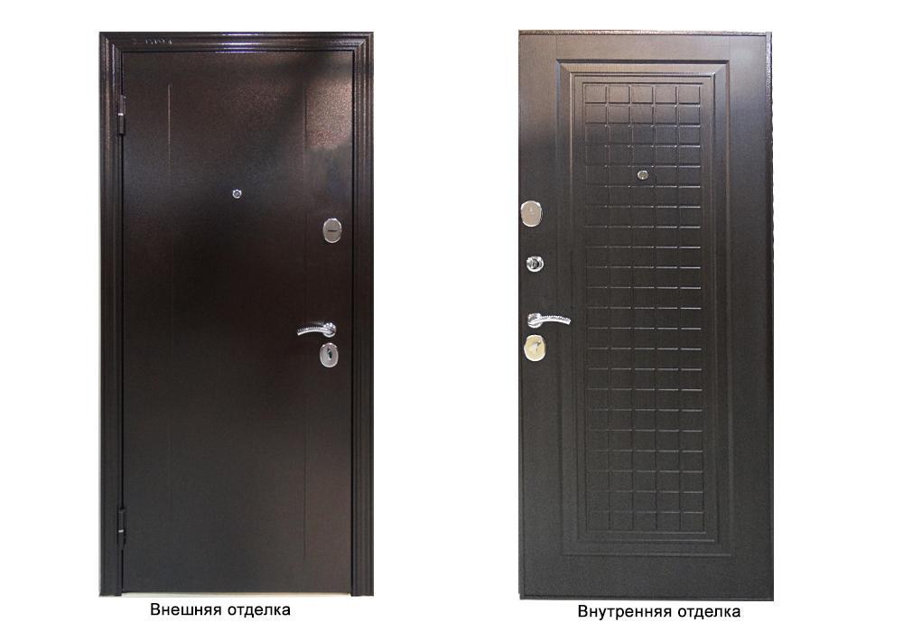 Дверь входная Delta-М 10