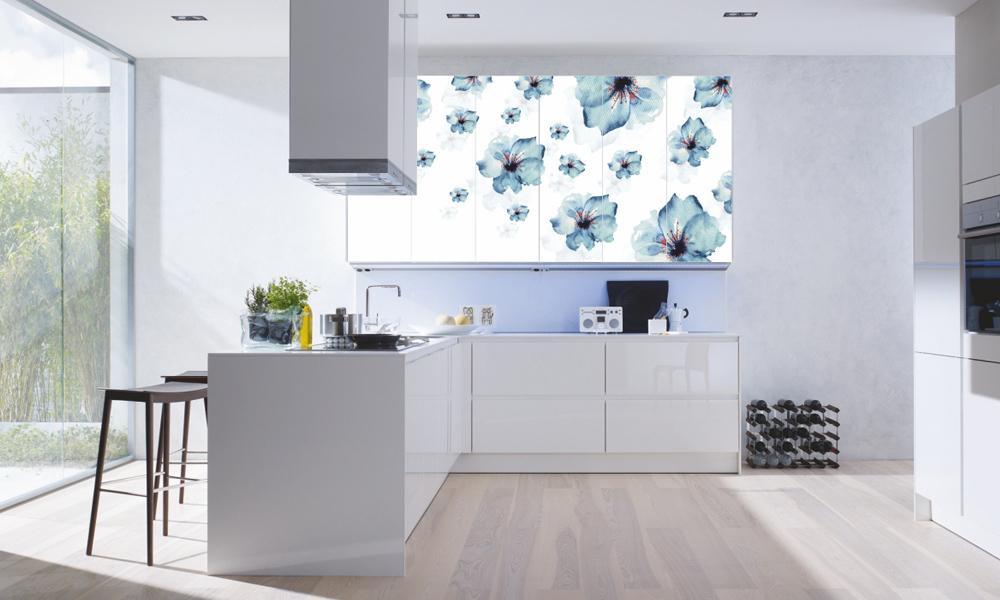 Кухни Модерн с High Gloss фасадами