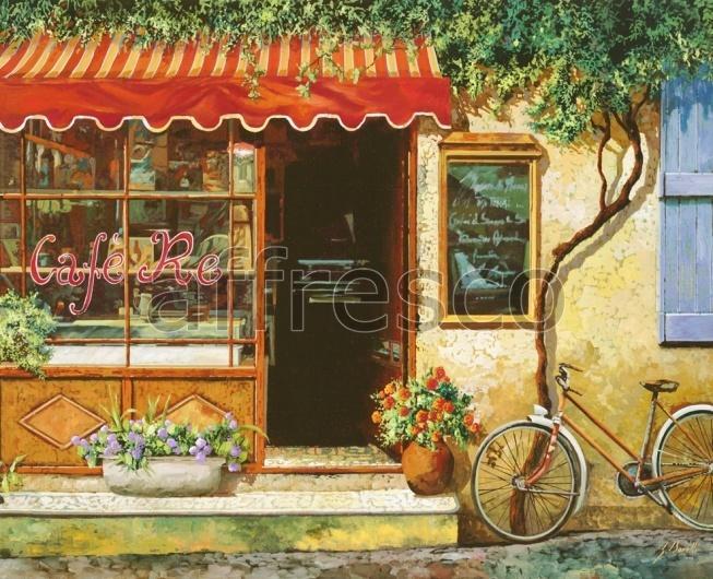 """Фреска """"Вход в кафе"""""""