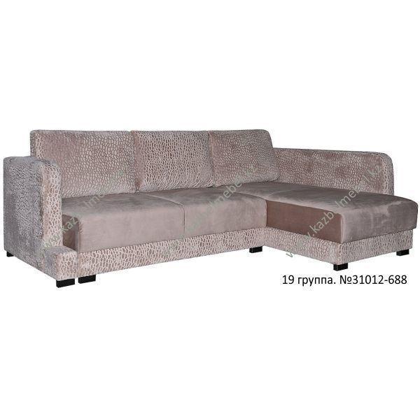 """Угловой диван """"Коби"""", с оттоманкой"""