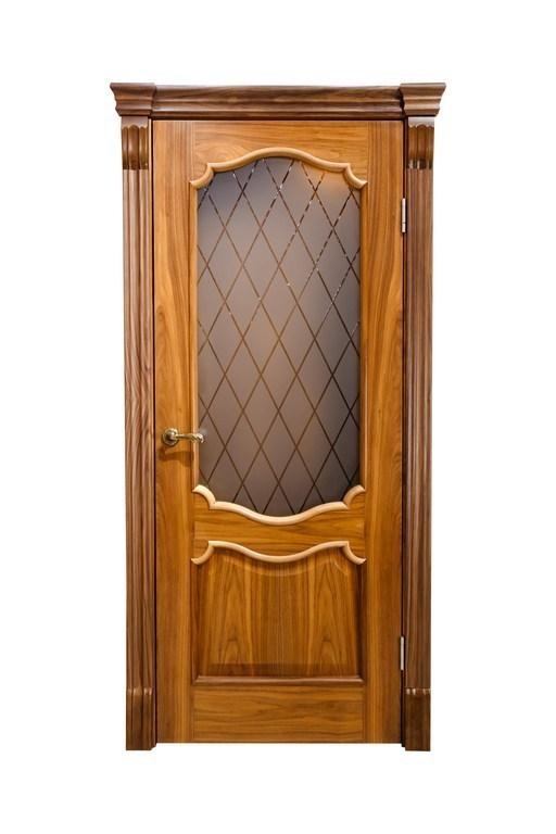 Дверь ДЛ 120 ПО Американский орех