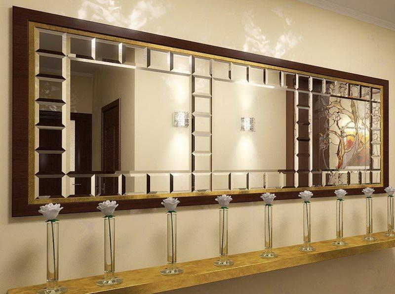 Зеркальные панно на заказ