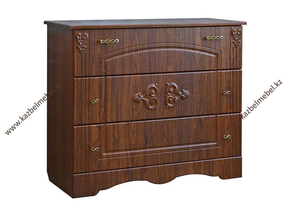 Спальный гарнитур Верона, из МДФ и ДСП, с классическим декором