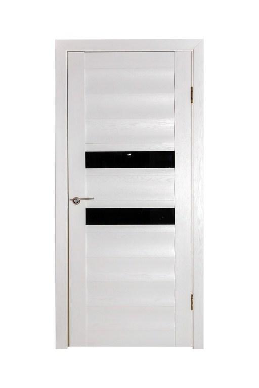 Дверь ДЛ 417 Белый Ясень