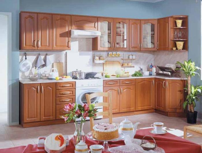 Кухонный гарнитур Ольха