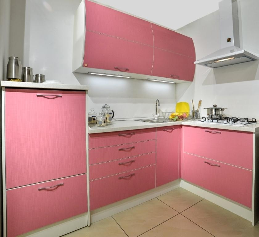 Кухонный гарнитур Сабрина pink