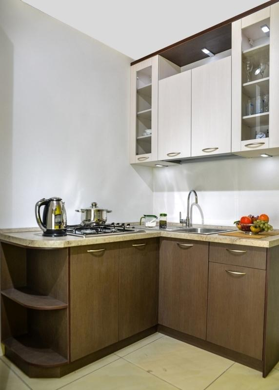 Кухонный гарнитур Амелия кремовая линия