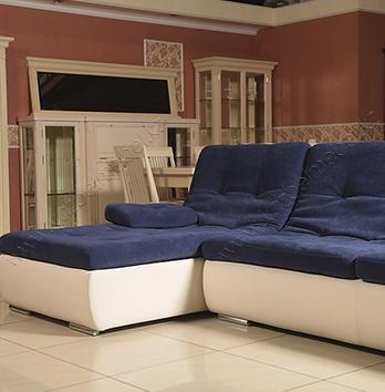 Угловой диван-кровать «Малибу», с универсальным углом и съемными локотниками
