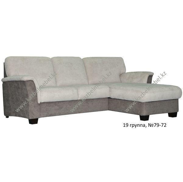Угловой диван-кровать Валентина, минималистичный, обивка 19 гр.ткани