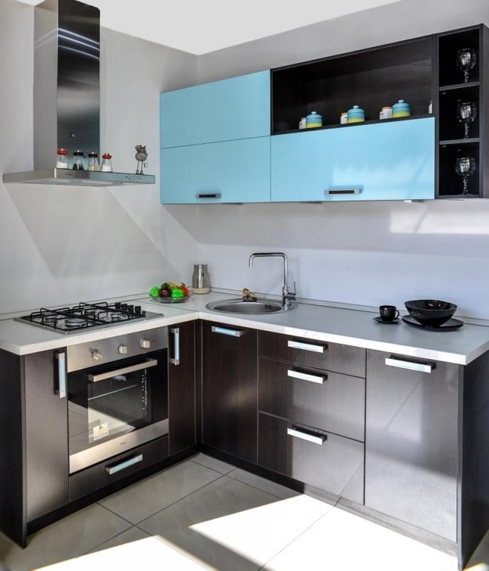 Кухонный гарнитур Амелия темный дуб