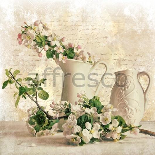 """Фреска """"Цветы в кувшине"""""""