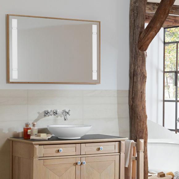 """Комплект раковина+тумбы+зеркало """"True Oak"""""""
