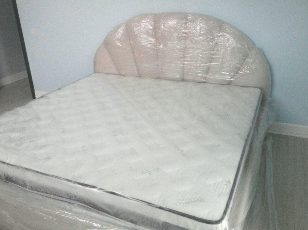 """Кровать мягкая """"Жемчуг"""""""