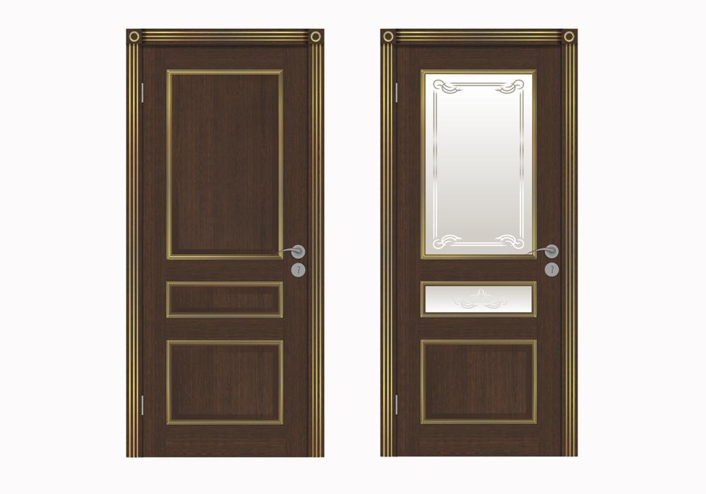 """Дверь межкомнатная """"Трио 2"""""""