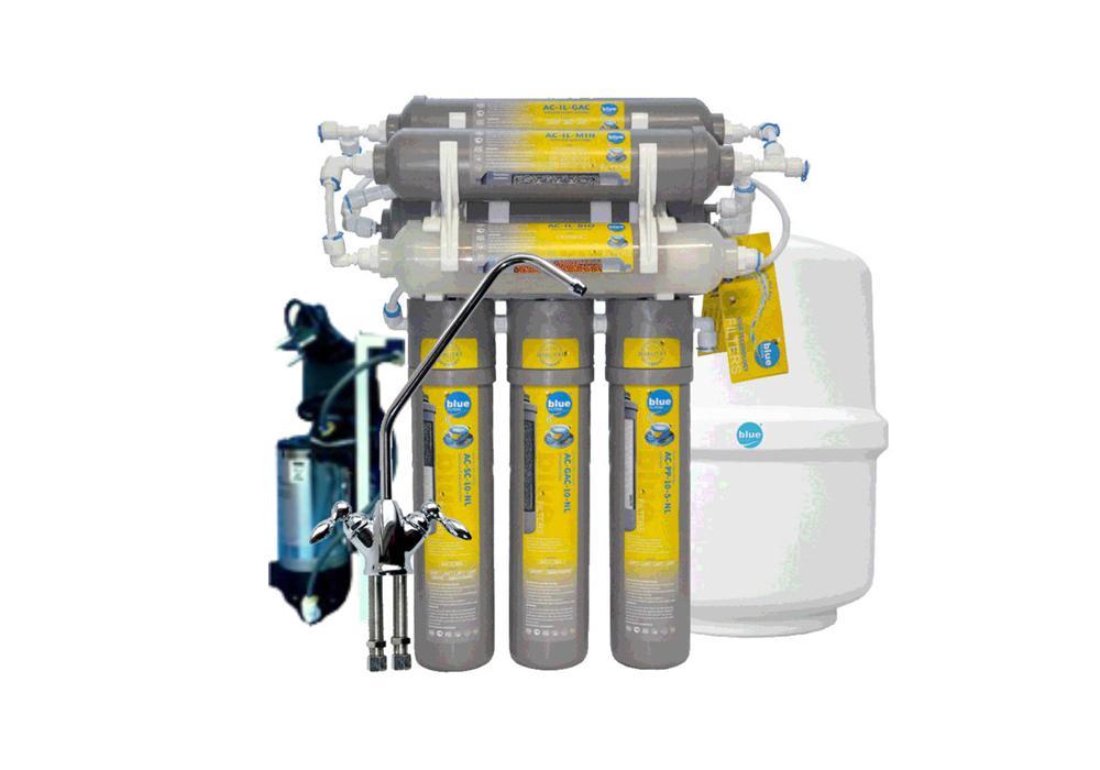 Фильтр для воды NewLine NL-RO7 с насосом