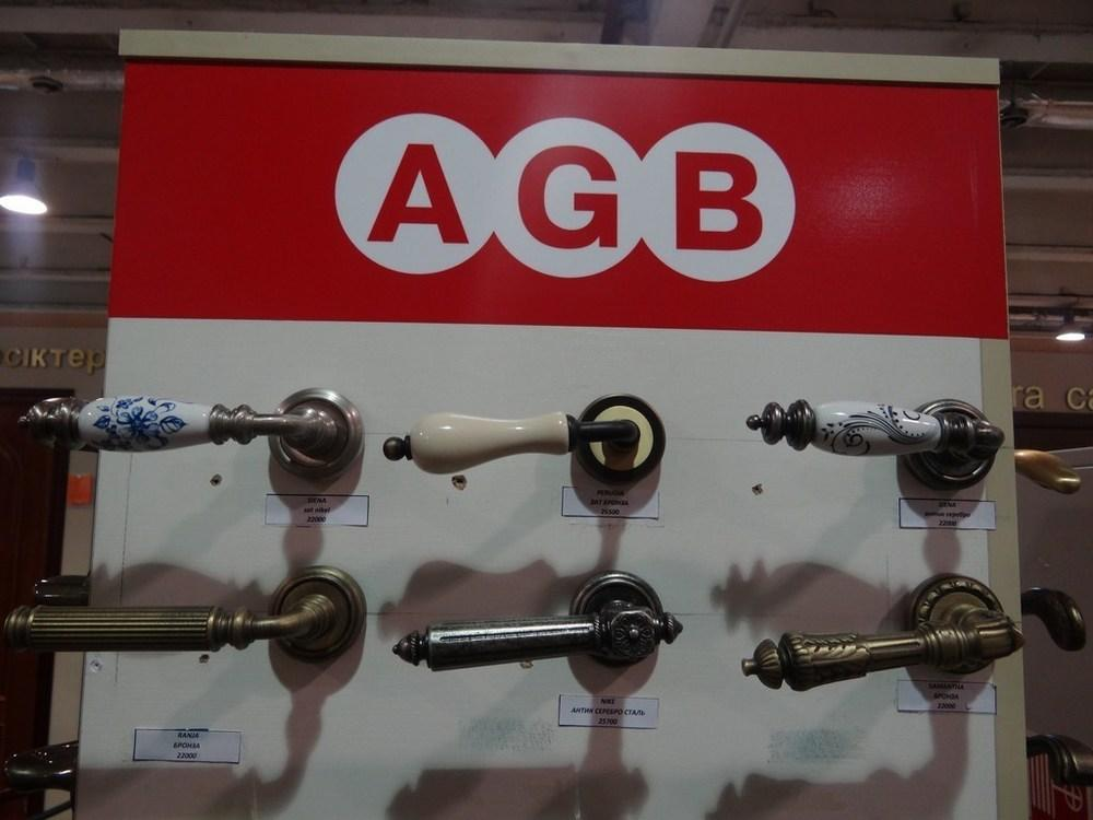 Дверные ручки AGB