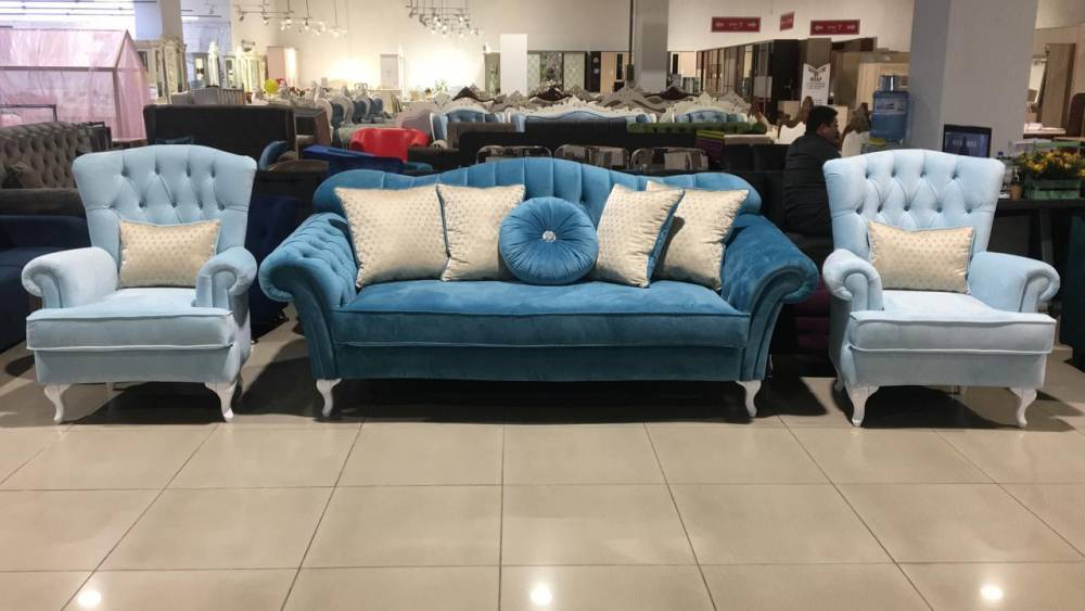 Комплект диван + 2 кресла